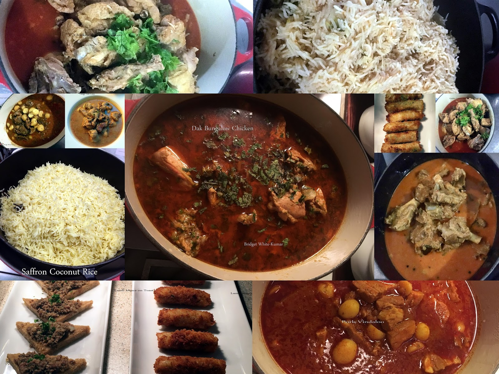 Angloindian Food  By Bridget Whitekumar Colonial Anglo