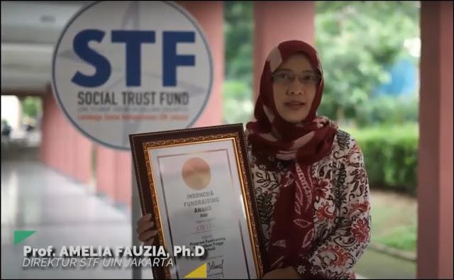 Kategori Fundraising Oleh Perguruan Tinggi Terbaik: Social Trust Fund UIN Jakarta