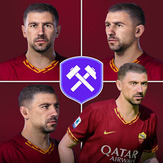PES 2020 Faces Aleksandar Kolarov by Volun
