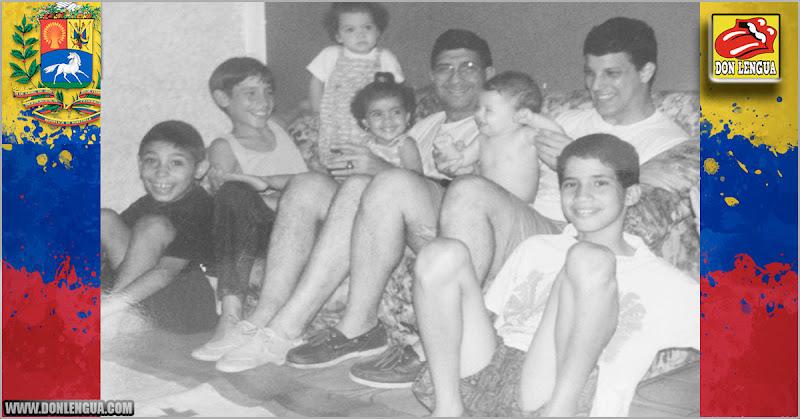 Juan Guaidó compartió foto antigua junto a su tío cuando eran niños