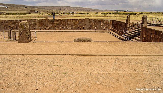 Templo de Kalasasaya, Tiwanaku, Bolívia
