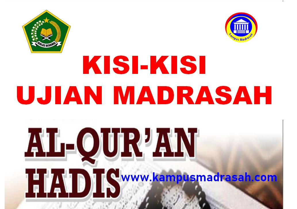 Kisi-kisi UM Al-Qur'an Hadis