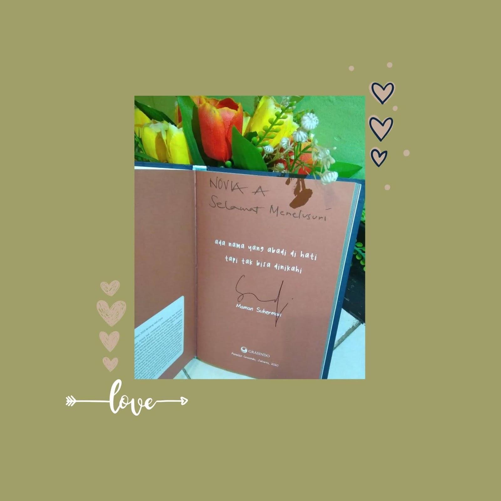 Rezeki sebuah buku dari giveaway kang maman
