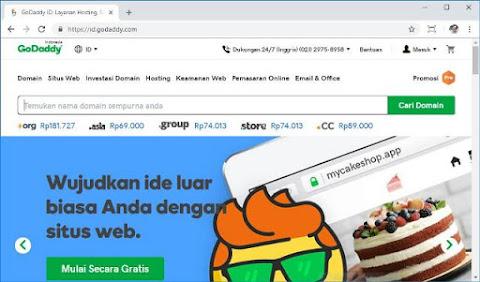 cara pasang domain di blogger