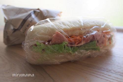 メツゲライイケダのサンドイッチ2種