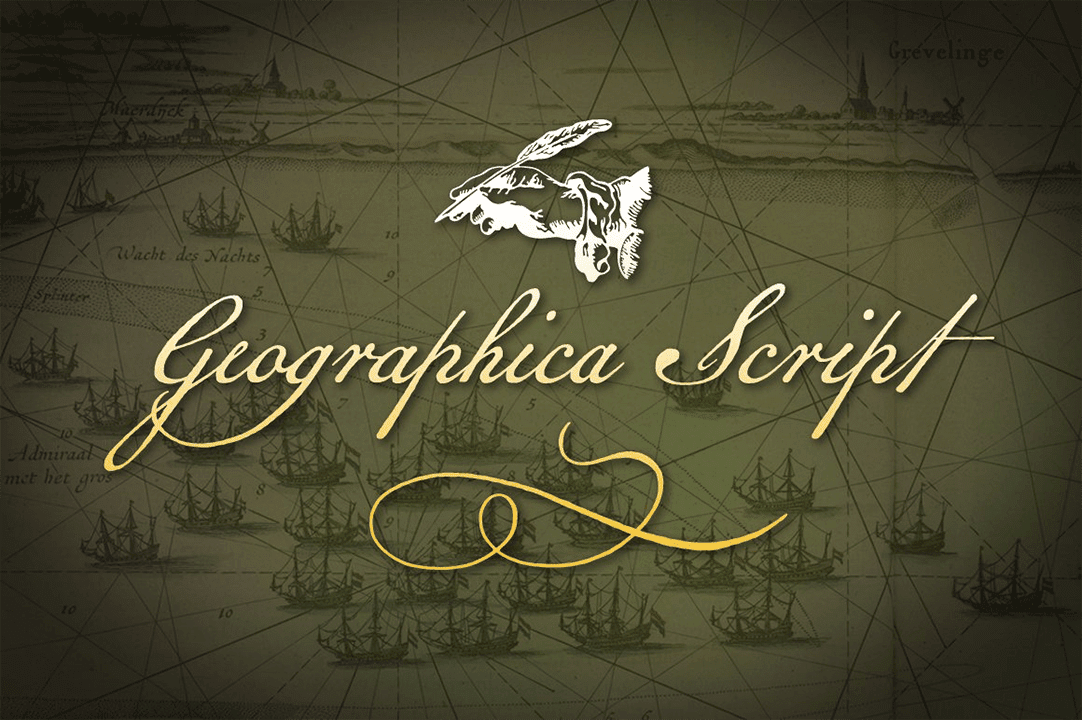 Geographica Script Font Free Download
