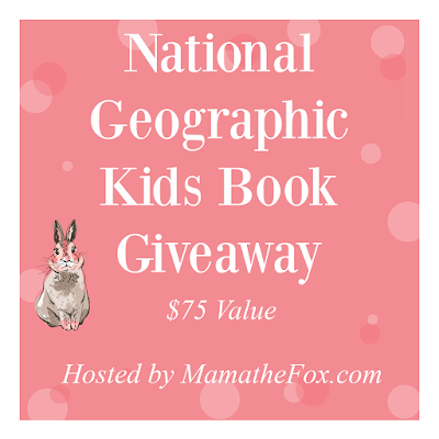 National Geographic Kids Book 📚 Giveaway
