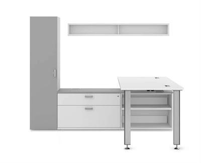 idesk l shaped workstation