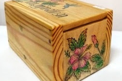 Wooden Gift Box - JH 002