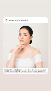 klinik kecantikan brand ambassador the purity aesthetic clinic