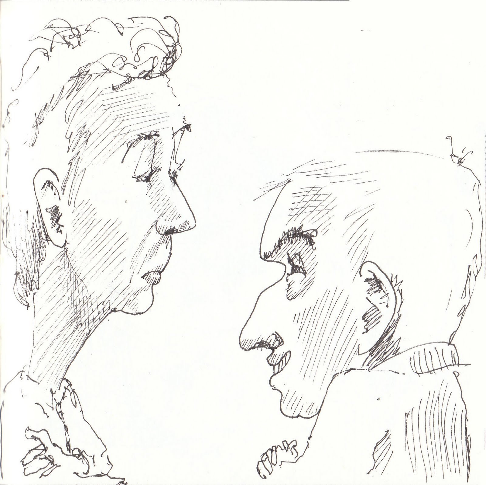Philippa Randles Illustration: some fun quick caricatures...
