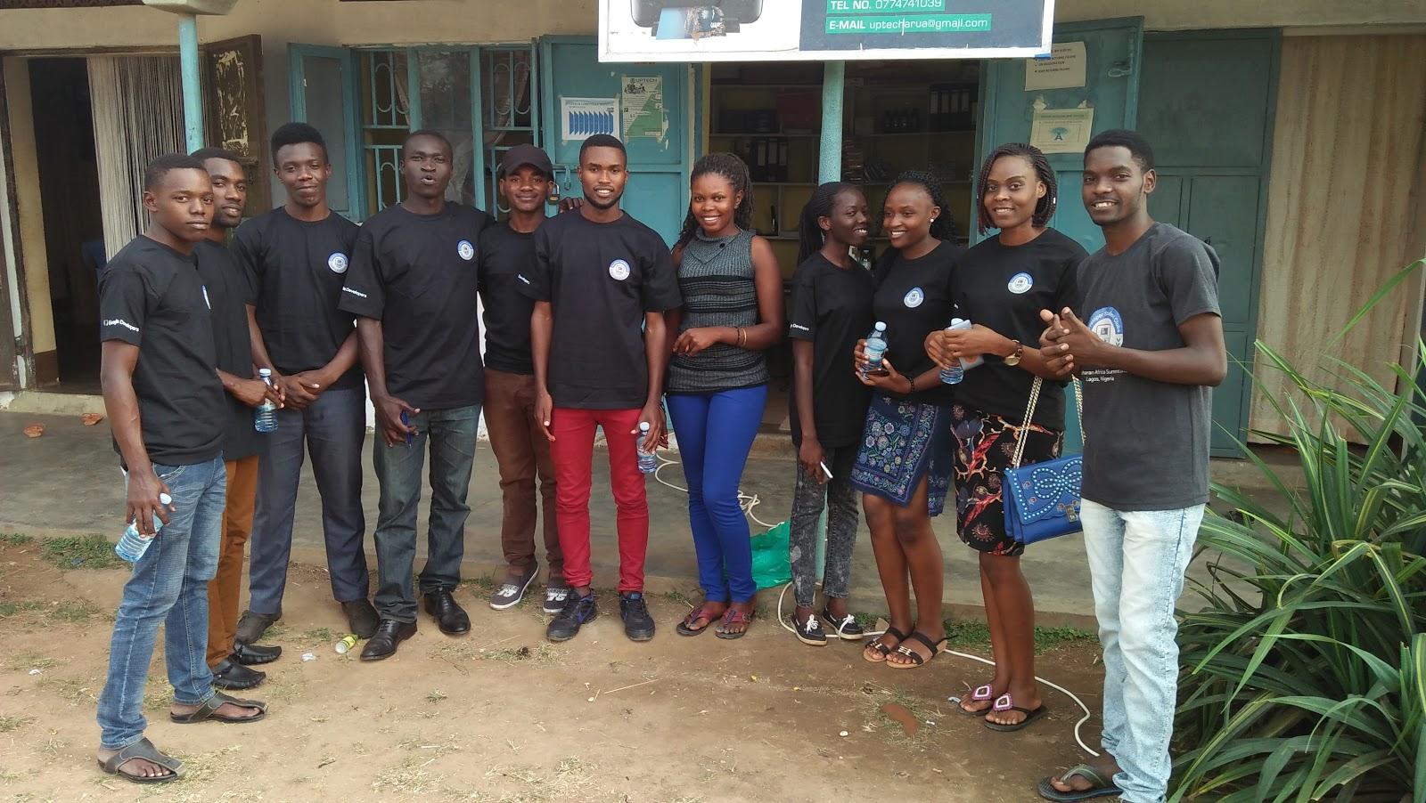 Team photo of Developer Student Club