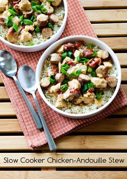 Slow Cooker Chicken-Andouille Stew