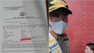 Oknum Satpol PP Gowa Bernama Mardani yang Pukul Wanita Hamil, Dilaporkan ke Polisi