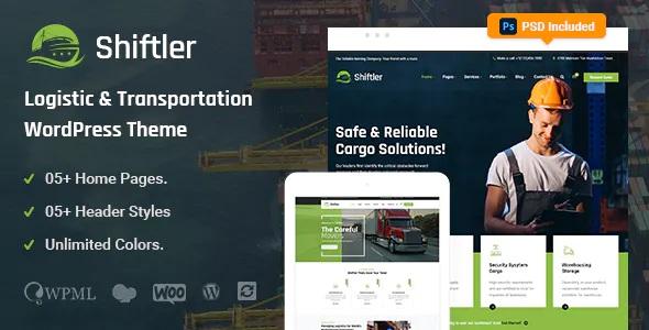 Transportation and Logistics Premium WordPress Theme