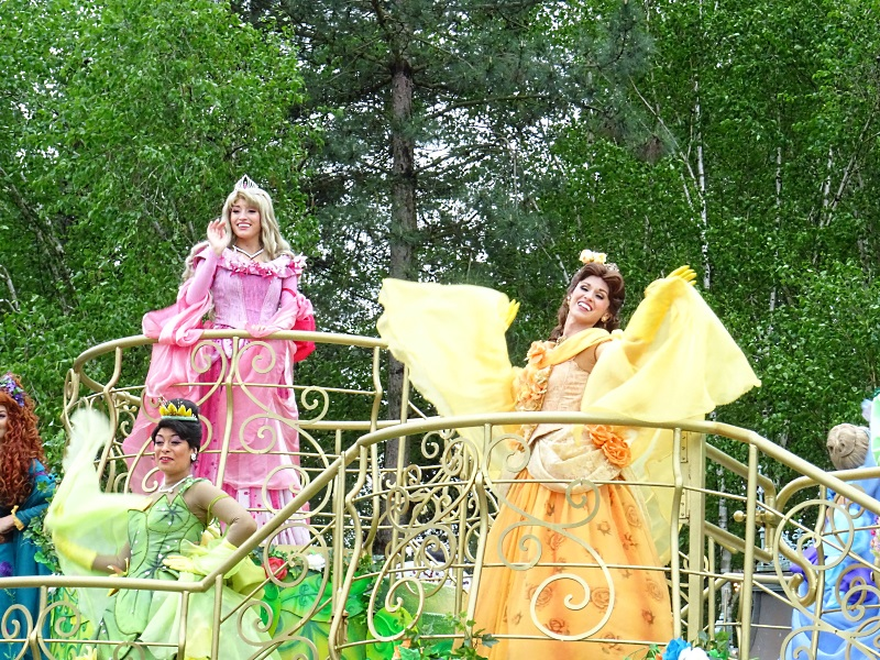 La parade des princesses
