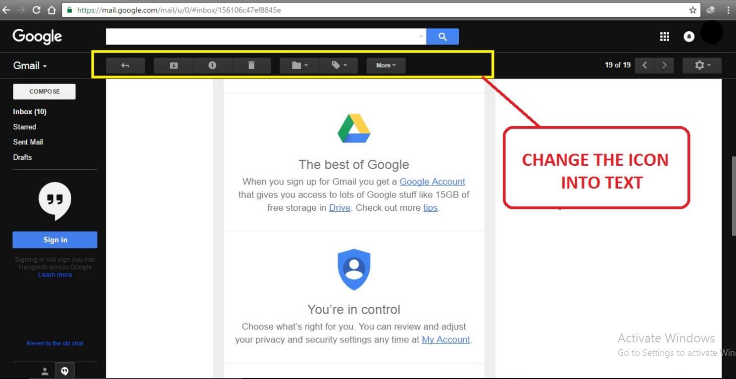 how to tell your friends you change gmail account
