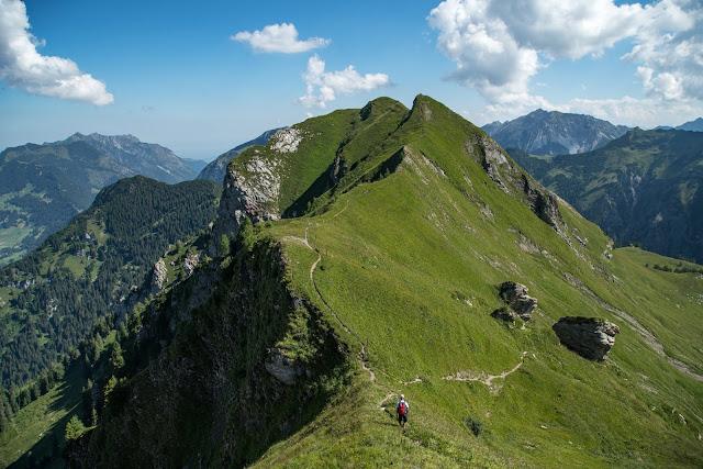 Bergtour Rappenstein von Steg  Wandern Fürstentum Liechtenstein 10