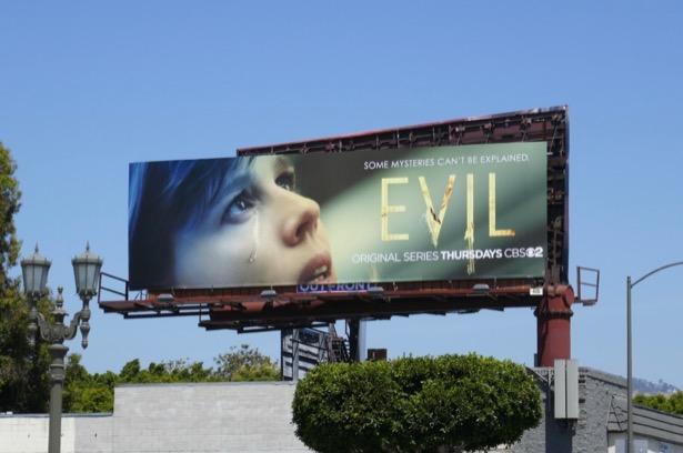 Evil series premiere billboard