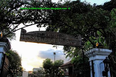 entrance, Garden, Baluarte de San Diego, Intramuros, Manila, Philippines