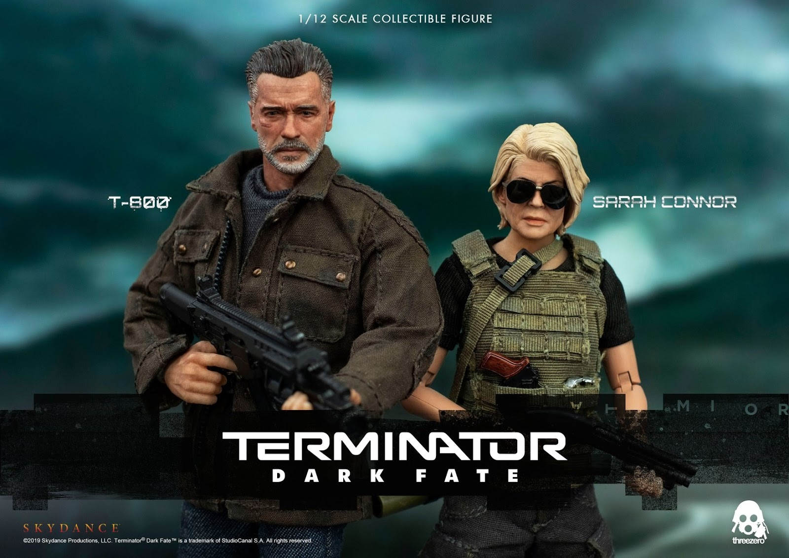 ThreeZero《未來戰士:黑暗命運》阿諾T800.莎拉康納 1/12人偶 - Toys Zone D 玩具兄弟 -Figures Price List. Reviews