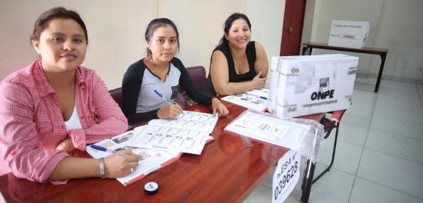 ONPE habilitará locales de votación este 27 de diciembre