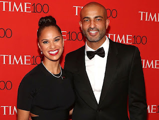 Misty Copeland with her spouse Olu Evans