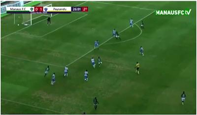 Erro grosseiro da arbitragem goiana em jogo da Copa Verde, revolta jogadores do Paysandu, confira o lance