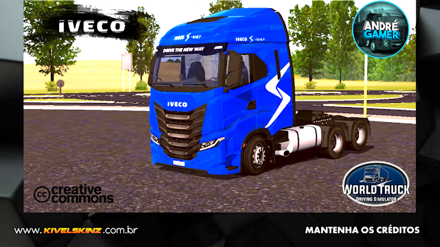 IVECO S-WAY - AZUL ORIGINAL