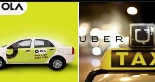 INDORE NEWS : ओला और उबर कैब का संचालन बंद, ड्राइवर हड़ताल पर