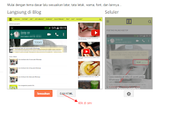 Cara membuat 2 iklan di tengah posting blog