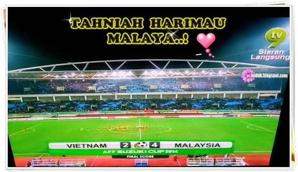 Piala AFF Suzuki Tahniah Harimau Malaya