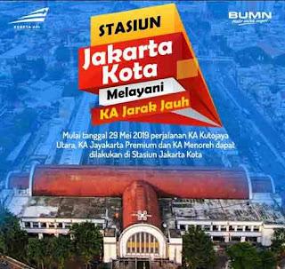 Jadwal KA Jakarta Kota