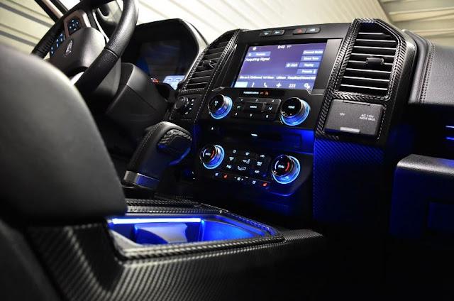 2016 ROUSH F-150 Interior