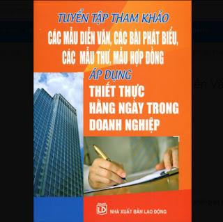 Tuyển Tập Mẫu Diễn Văn Tham Khảo Trong Doanh Nghiệp ebook PDF EPUB AWZ3 PRC MOBI