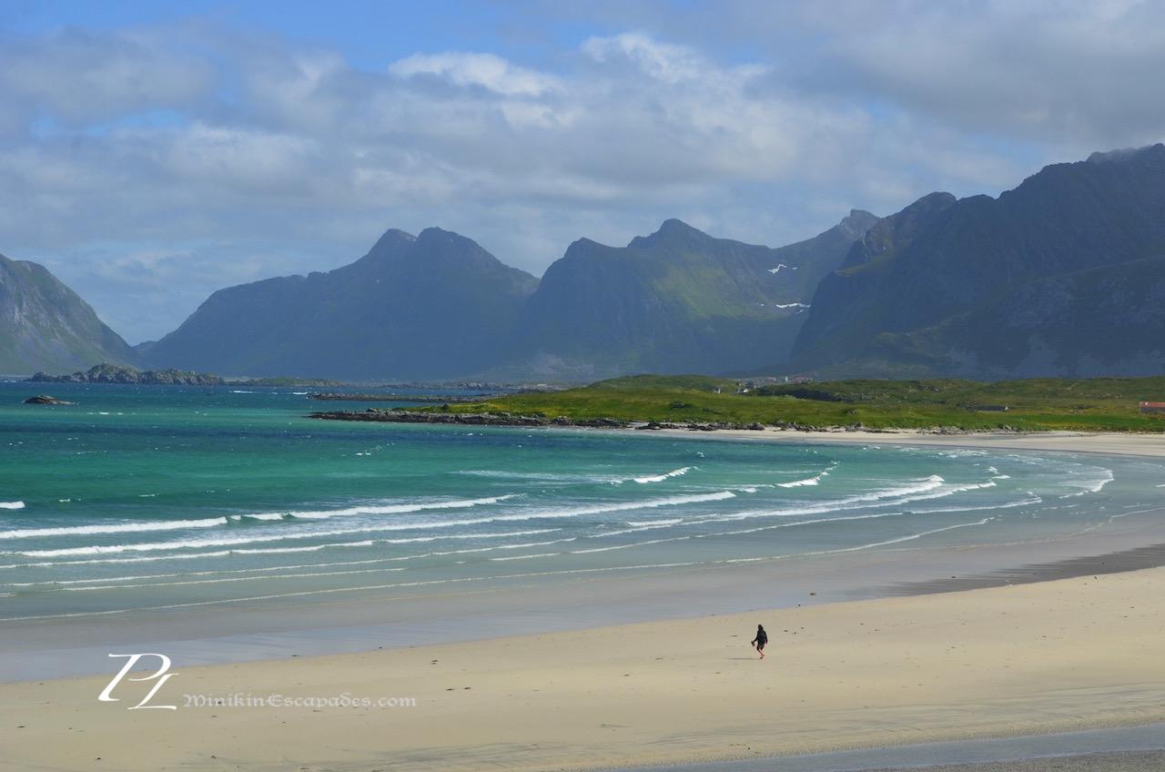 Yttersand beach, a grand affair