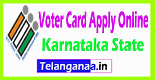 Voter ID Card Apply in Karnataka State