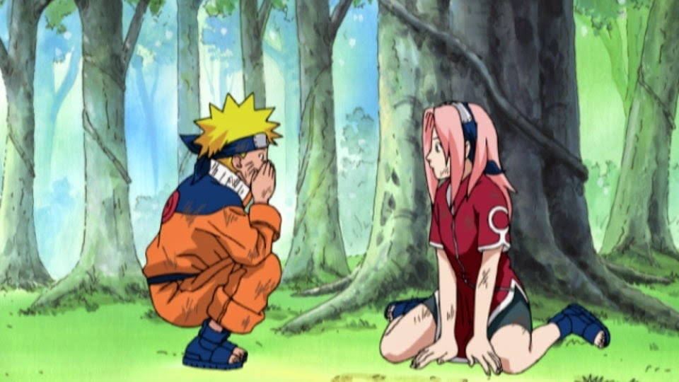 Naruto y Sakura