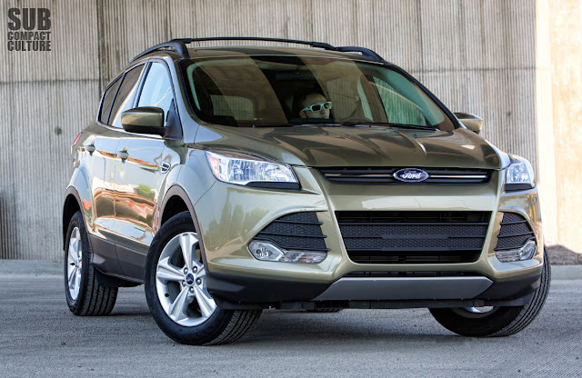 Driving the 2013 Ford Escape SE compact crossover