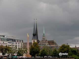 Lussemburgo vista dal ponte Adolph