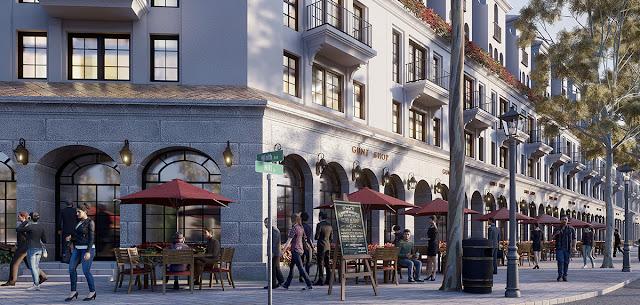 Dự án Sunshine Helios Ciputra biệt thự shop villas Tây Hồ