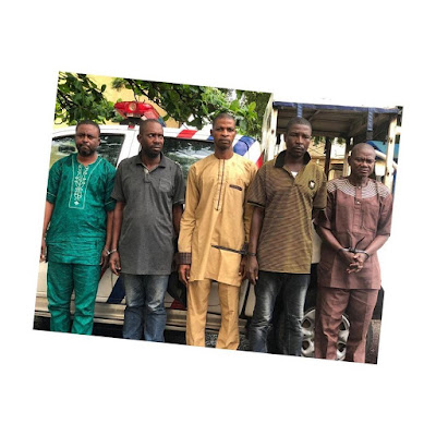 ''Everyday for the thief A day for the owner'' Church elder, And 4 other real Estate Scammers operating on Jiji, caught and arrested.