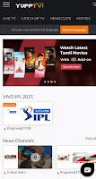 Watch Free IPL 2021 Live on YuppTV