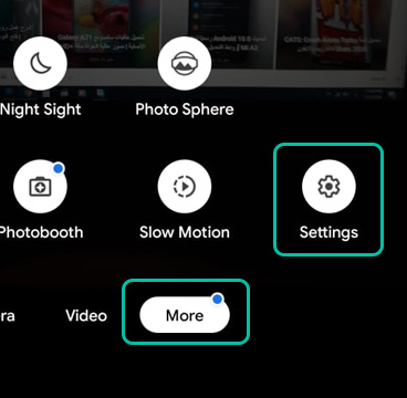 Google Camera settings Config