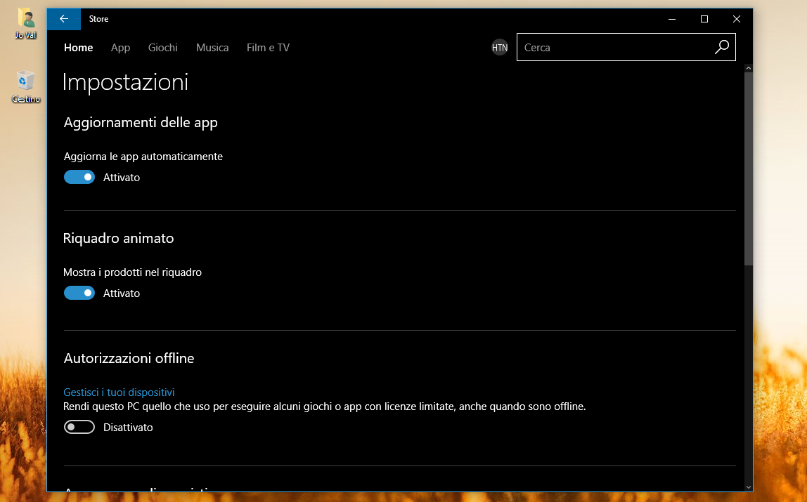 Come utilizzare offline i giochi del Windows Store 2 HTNovo