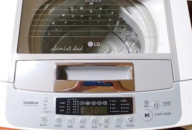 LG full-auto washing machine, LG Smart Inverter Washing Machine, LG washing machine, product review, review, unboxing, LG T2107VSPW,