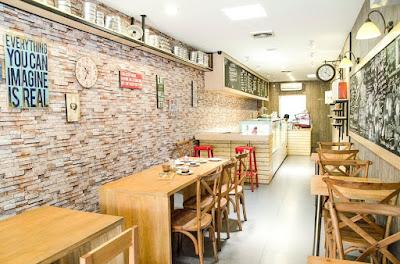 keren dekorasi cafe kekinian - beauty glamorous