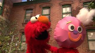 Elmo, Balloono, Sesame Street Episode 4322 Rocco's Playdate season 43