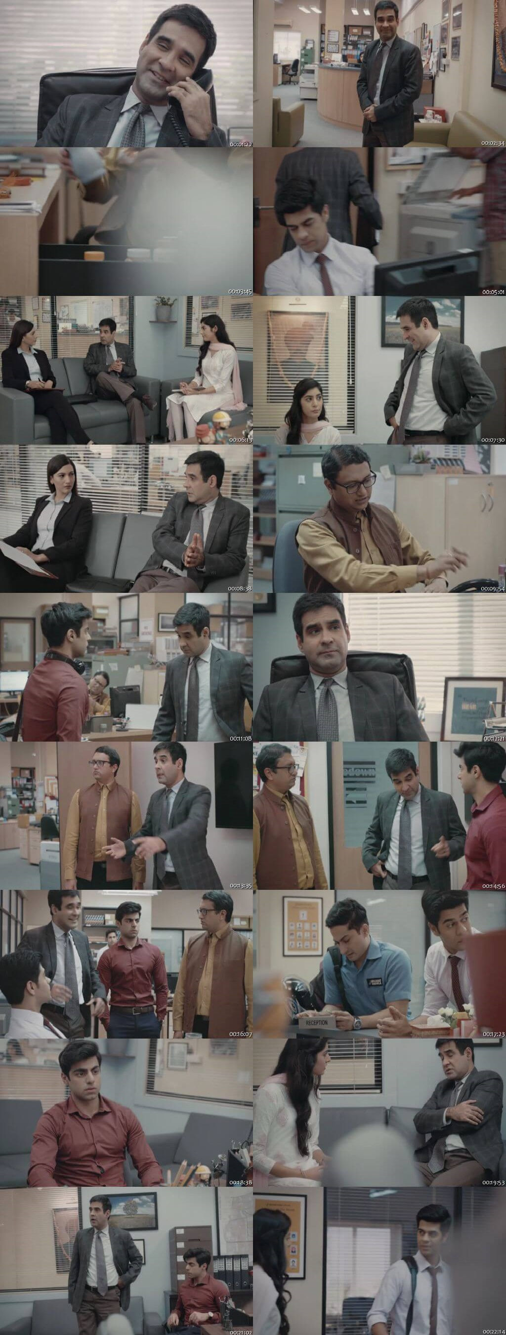 Screenshots Of Hindi Show The Office Season 01 2019 Complete - All Episodes 300MB 720P HD