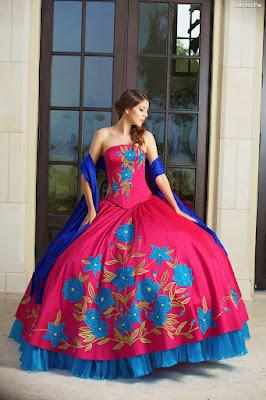 ef4b682380 ▷ 95 Vestidos de XV Años  Charros